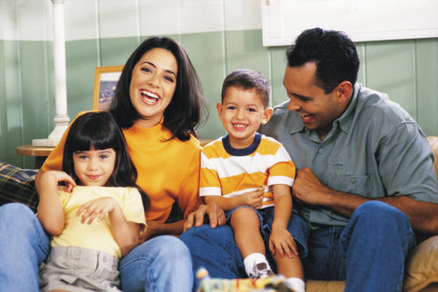 Image of Hispanic Family